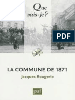 ROUGERIE - La Commune de 1871 - Rougerie Jacques