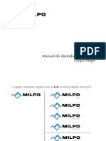 Manual de Identidad Corporativa Milpo
