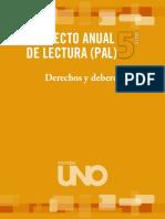 Proyecto Anual de Lectura 5°