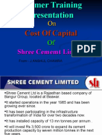 Ppt on Cost of Capital Scl - Copy