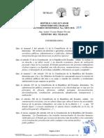 Acuerdo Ministerial Nro.mdt 2019 394