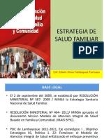 Estrategia Salud Familiar y Comunitaria, abril 19