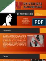 El feminicidio
