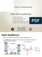 ES 11 Lecture 6 Rigid Body Equilibrium