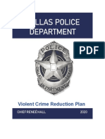 2020 Violent Crime Reduction Plan