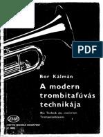 Bor Kálmán - A modern trombitafújás technikája