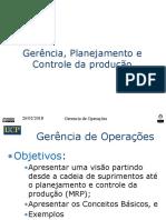 Gerência e Controle da ProducaoV2a