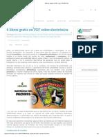 6 libros gratis en PDF sobre electrónica