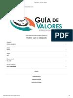 Fasecolda __ Guía de Valores