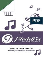 CORAL IBF - MUSICAL 2018 NATAL