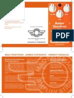 Amber Overdrive HW manual