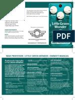 Little Green Wonder HW manual
