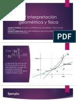 3.9 Interpretación Geométrica y Física