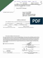 Christopher Sagajllo Criminal Complaint