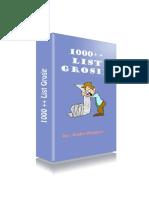 1000++ List Supplier