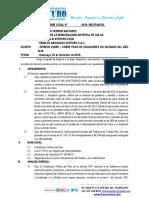 INFORME - SOBRE PAGO DE VACACIONES NO GOZADAS DEL AÑO 2018.