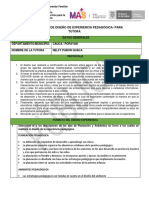 propuesta pedagogica lista de no david