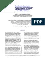 Lang and Altman_Statistical Reporting SAMPL Guidelines