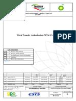 Work Transfer Authorization (WTA) Procedure