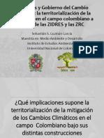 Presentacion  Cambio Climatico y PSA