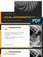 legal-interpretivism