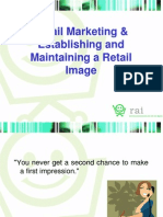 Retail Image and Marketing