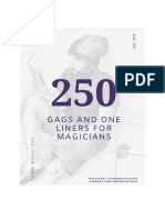 Tadeu Magalhaes - 250 Gags & Jokes For Comedy Magicians