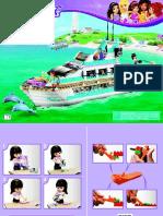 manual lego barco