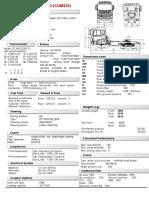 Ficha Tecnica HFC4253-6X4 TRACTOR H  EAD (CUM420)按设计方案