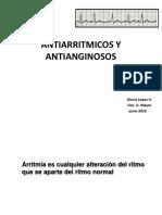 ANTIARRITMICOS Y ANTIANGINOSOS