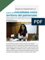 Entrevista Graciela Morgade desigualdad de género en el ámbito académico