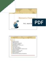 Revisão MatematicaFinanceira
