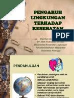 Pengaruh Lingkungan Thd Kesehatan