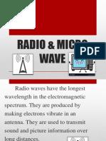 RADIO & MICRO WAVE