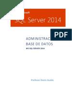 Manual-Admon-SQL-2014