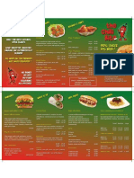Chilli Bite Menu