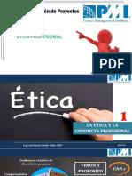 CLASE - RESPONSABILIDADES PROFESIONALES Y SOCIALES, PMP - ETICA