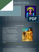 Las mujeres incas
