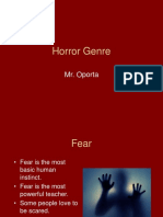 Horror Lecture