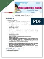 Lección 3 - La Tentación de Jesús