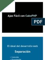 Curso Ajax Cake