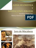 HISTORIA JUDÍA HELENÍSTICA Y NARRACIONES BÍBLICAS
