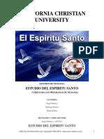 California Christian University_-_El Espíritu Santo