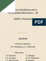 Presentacion MMPI 2