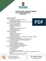 PLAN ESTRATEGICO DEL TALENTO HUMANO 2019