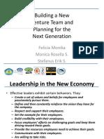 ENTERPRENEURSHIP - CH 16 - Building a New Venture Team