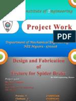 Mechanical Project Milling Fixture