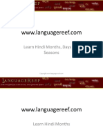 Learn hindi months, days and seasons.pdf