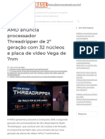 A AMD apresenta novidades durante a Computex