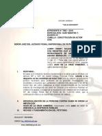 CONSTITUCIÓN DE ACTOR CIVIL - ALIMENTOS.doc